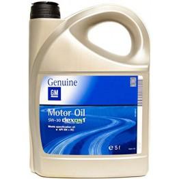 GM 5w30 Бензин Dexos 1 5 литра