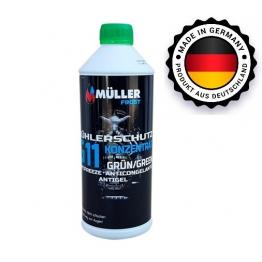 Антифризи Müller -G11 концентрат зелен 1.5л