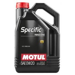 MOTUL SPECIFIC RBS0-2AE 0W20 5L