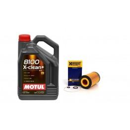 MOTUL 8100 X-CLEAN+ C3 5W30 5 литра