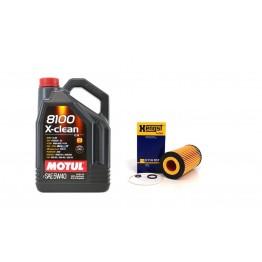 MOTUL 8100 X-CLEAN 5W40 5 литра