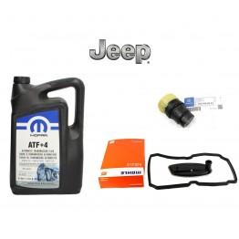 Смяна на масло на автоматични скорости JEEP WK-WJ