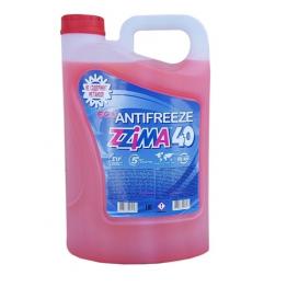 Антифриз Zzima -40 градуса G12 - червен 5 литра