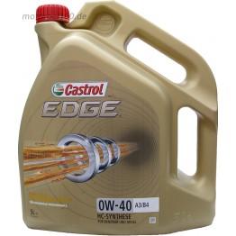 Castrol EDGE 0w40 5 л