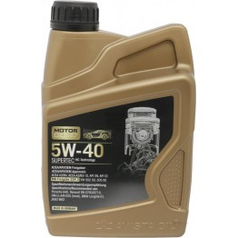 MOTOR GOLD SUPERTEC 5W40 1 литър