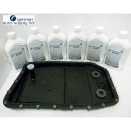 Пакет смяна на автоматични скорости на BMW ZF масло 6 литра + ZF филтър и картер