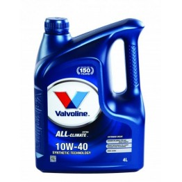 VALVOLINE ALL CLIMATE 10W40 4L