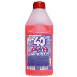 Руски Червен Антифриз G12 ZZIMA  1 литър