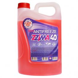Руски Червен Антифриз G12 ZZIMA  5 литра