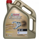 Castrol EDGE FST TITANIUM TURBO DIESEL 5w40 5 литра