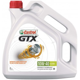 CASTROL GTX 15W40  4 литра