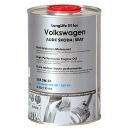 VW 5w30 Long Life III 1 L метална туба