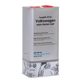 VW 5w30 Long Life III 5L метална туба