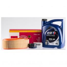 Пакет за смяна на маслото ELF за Dacia Logan 1,6 Mpi