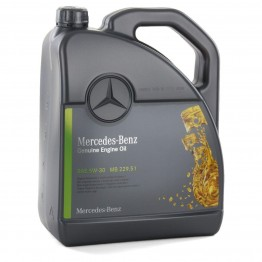 Mercedes 229.51 5w30 10 литра + маслен филтър MANN E 320 CDI W211\204HP) [11/02-12/08]