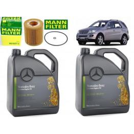 Масло с маслен филтър за Mercedes ML W164 320 CDI
