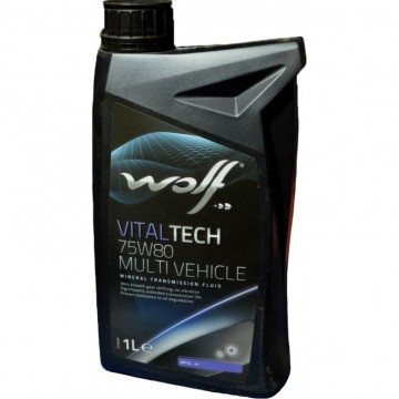WOLF 75W80 MULTI VEHICLE  1L