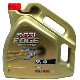 Castrol Edge Turbo Diesel Titanium 5w40 4L