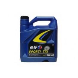 ELF Sport TXI 15w40 Бензин 4 литра