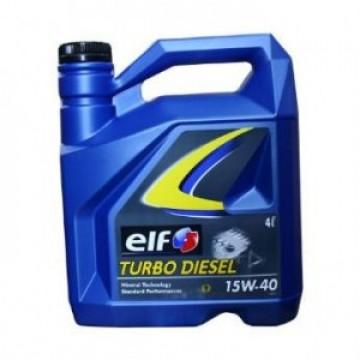 ELF 15w40 Turbo Diesel 4 литра