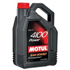 MOTUL 4100 POWER 15W50 5 литра