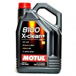 MOTUL 8100 X-CLEAN+ C3 5W30 1 литър