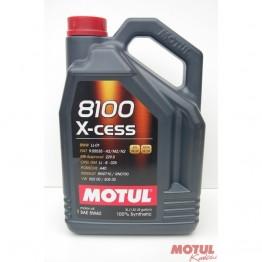 Motul 8100 X-cess 5W-40 5 литра