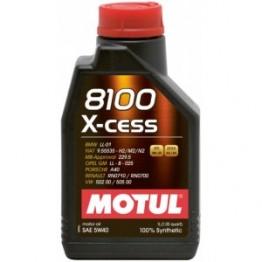 Motul 8100 X-cess 5W-40 1 литър