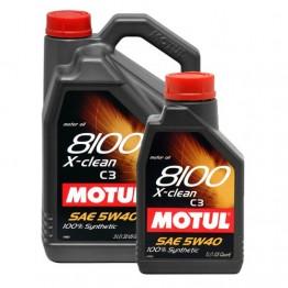MOTUL 8100 X-CLEAN 5W40 1 литър