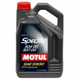 MOTUL SPECIFIC .504.00-507.00 5W30 5L