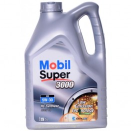 Mobil Super 3000 XE 5w30 4 л