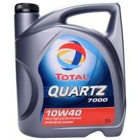 Total Quartz 7000 10w40 Бензин 5 л