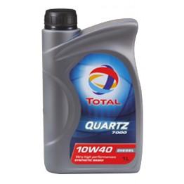 Total Quartz 7000 10w40 Дизел 1 л