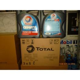 Total Quartz 7000 10w40 Дизел 15 литра 3 туби x 5 литра - 1 кашон