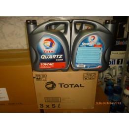 Total Quartz 7000 10w40 Бензин 5 литра 3 туби 1 кашон - 6.10 лв/литър