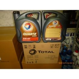 Total Quartz 9000 5w40 5 литра - 3 туби - 1 кашон -7.2 лв/литър