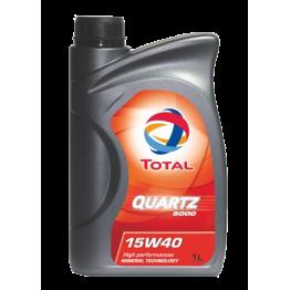 Total Quartz 5000 15w40 1 литър