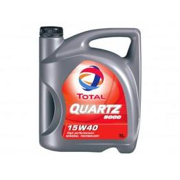 Total Quartz 5000 15w40 5 литра