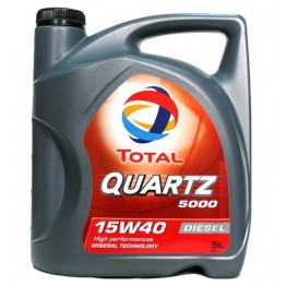 Total Quartz 5000 15w40 Diesel 5 литра