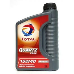 Total Quartz 5000 15w40 Diesel 1 л
