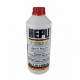 Антифриз HEPU G12 Червен 1,5 литра -70 градуса