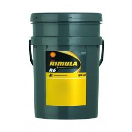 Моторно масло за ISUZU и KIA и MERCEDES-BENZ и NISSAN и TOYOTA RIMULA R6 M 10W40 20L