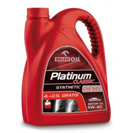 Моторно масло за FIAT и NISSAN и PEUGEOT и SMART PLATINUM CL.DI. SYNT.4,5L