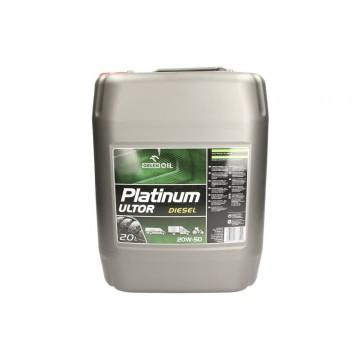 Моторно масло PLATINUM ULT.D.20W50 20L