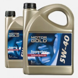 MOTOR GOLD SUPERTEC 5W40 5L