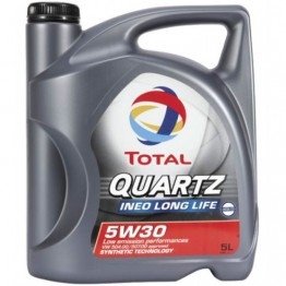 TOTAL QUARTZ INEO LONG LIFE 5W30 - 5 L