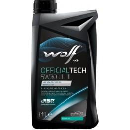 WOLF OFFICIALTECH 5W30 LL III 1 L